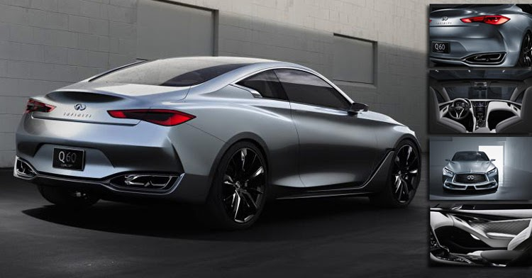 2015 Infiniti Q60 Convertible >> New Infiniti Q60 Coupe Concept Detailed in 26 Fresh Photos