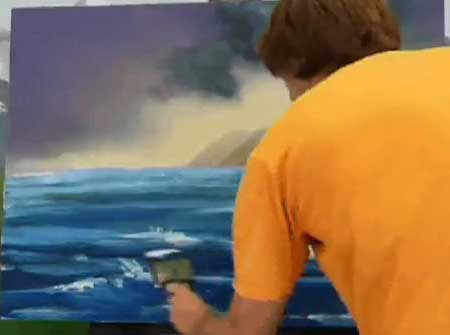 Painting a Sea