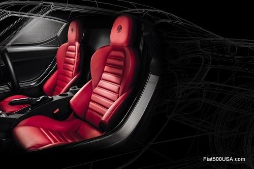 Alfa Romeo 4C Seat