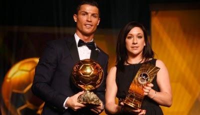C.Ronaldo Dan N.Kessler Pemenang Ballon d'Or