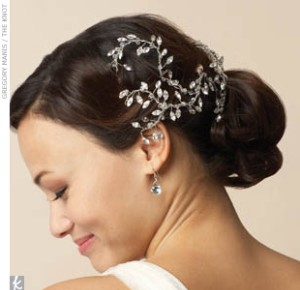 hair combs wedding veils
