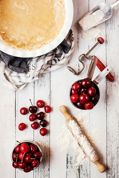 Pie Crust and Cherries
