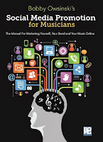 Social Media Promotion For Musicians book cover image