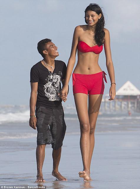 La chica más alta del mundo