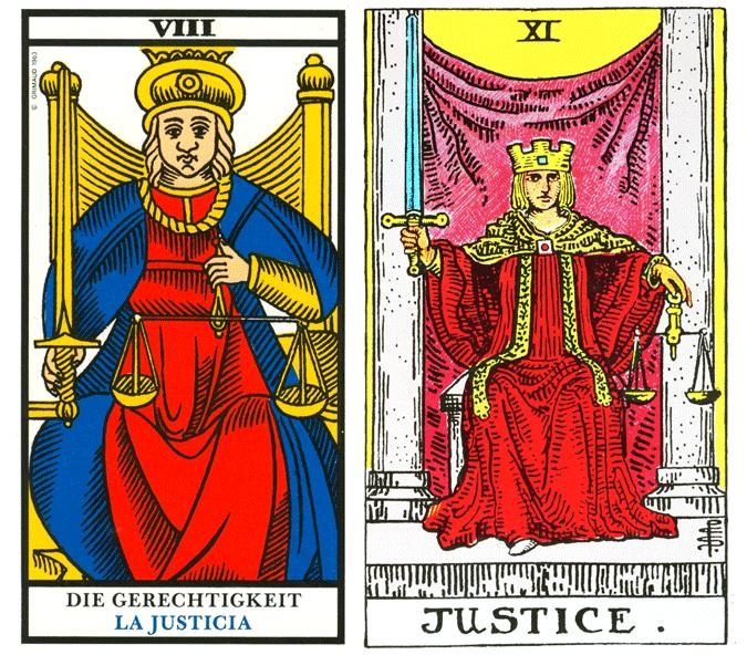 Arcano VIII, A Justiça - Como ler tarot