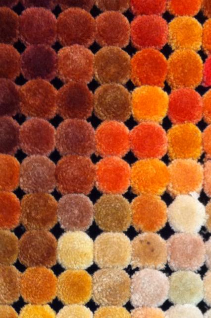 carta de colores disponibles para alfombras modernas