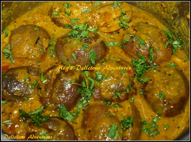 Stuffed Baby Eggplants Curry (Bharli Vangi)