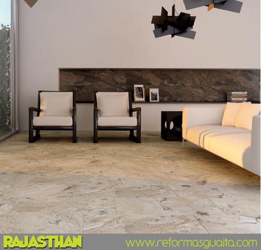 Rajasthan azulejo porcel nico con sabor a piedra - Azulejos de terraza ...
