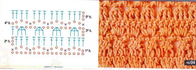 #656 [Punto] Puntada tupida a Crochet