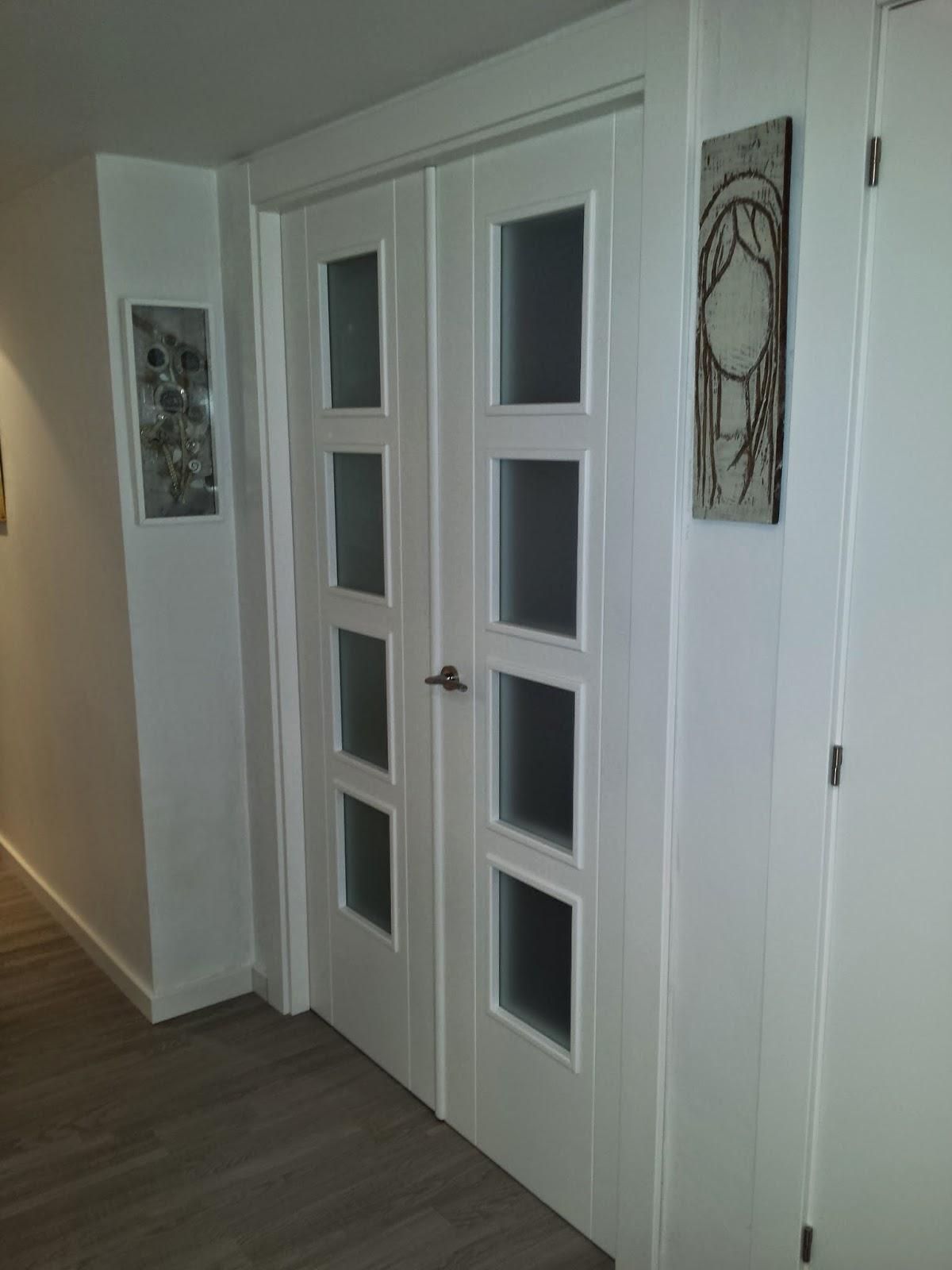 Puertas y maderas gasca mobiliario a medida y reformas for Puertas blancas dobles