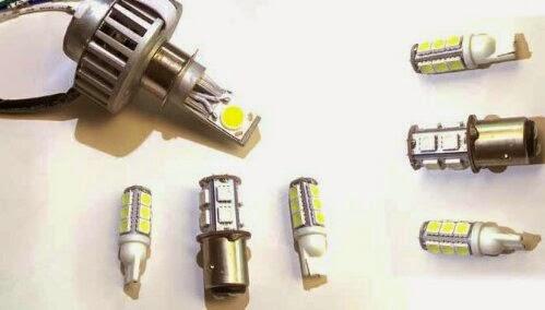 Ragam Dan Harga Lampu LED Untuk Headlamp Mobil