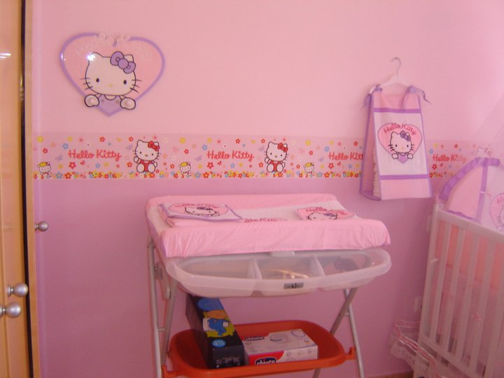 cuarto para nia hello kitty u dabcrecom with decoracion habitacion de bebe nia