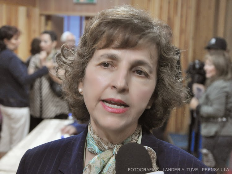 Dra. Patricia Rosenzweig Levy, Vicerrectora Académica ULA. (Foto: Lánder Altuve)