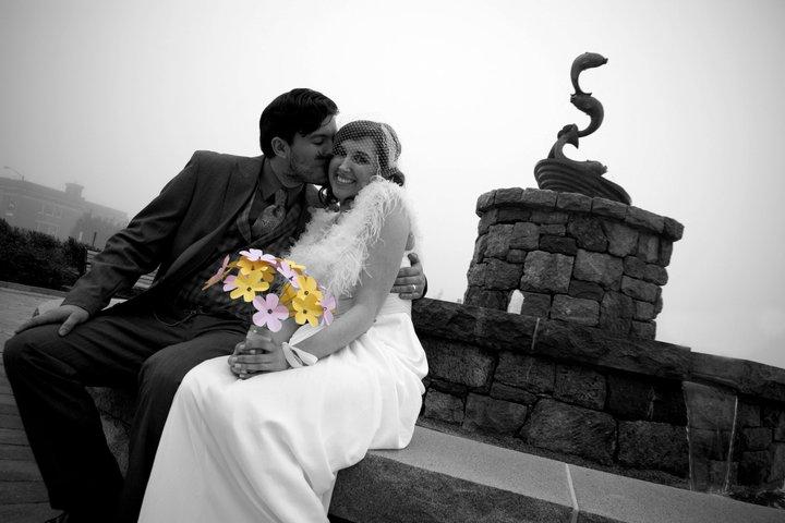 Monica dufault wedding