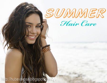 Грижа за косата през лятото