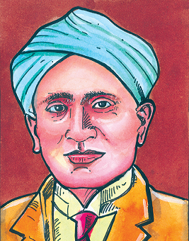 C.V. Raman, the Pride of India (www.naabadi.org)