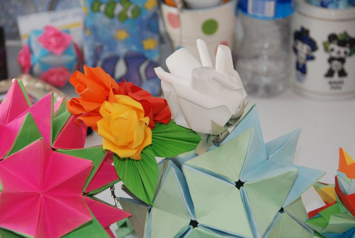 Everything origami 2011 origami revealed flower mightylinksfo