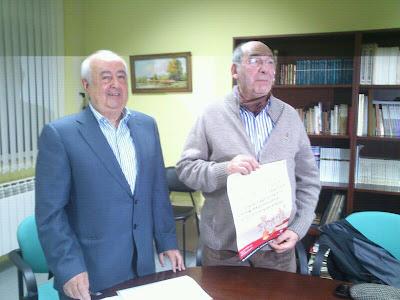 Manuel Bruno Nevado y Jacinto García Hoya