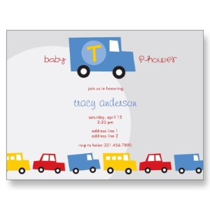 Toys Baby Boy Baby Shower Invitations