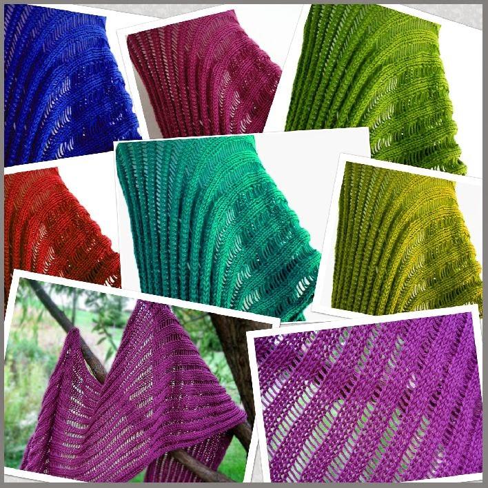 Knitting Up A Storm The Dummy Clap Shawl Kuas Original Pattern