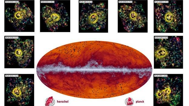 Cientistas descobrem conjunto de galáxias mais antigas e afastadas da Terra