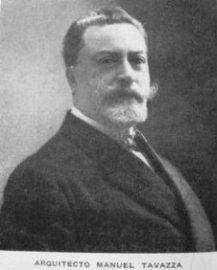 Arquitecto Manuel Tavazza ( Milan 1876 - Buenos Aires 1937)