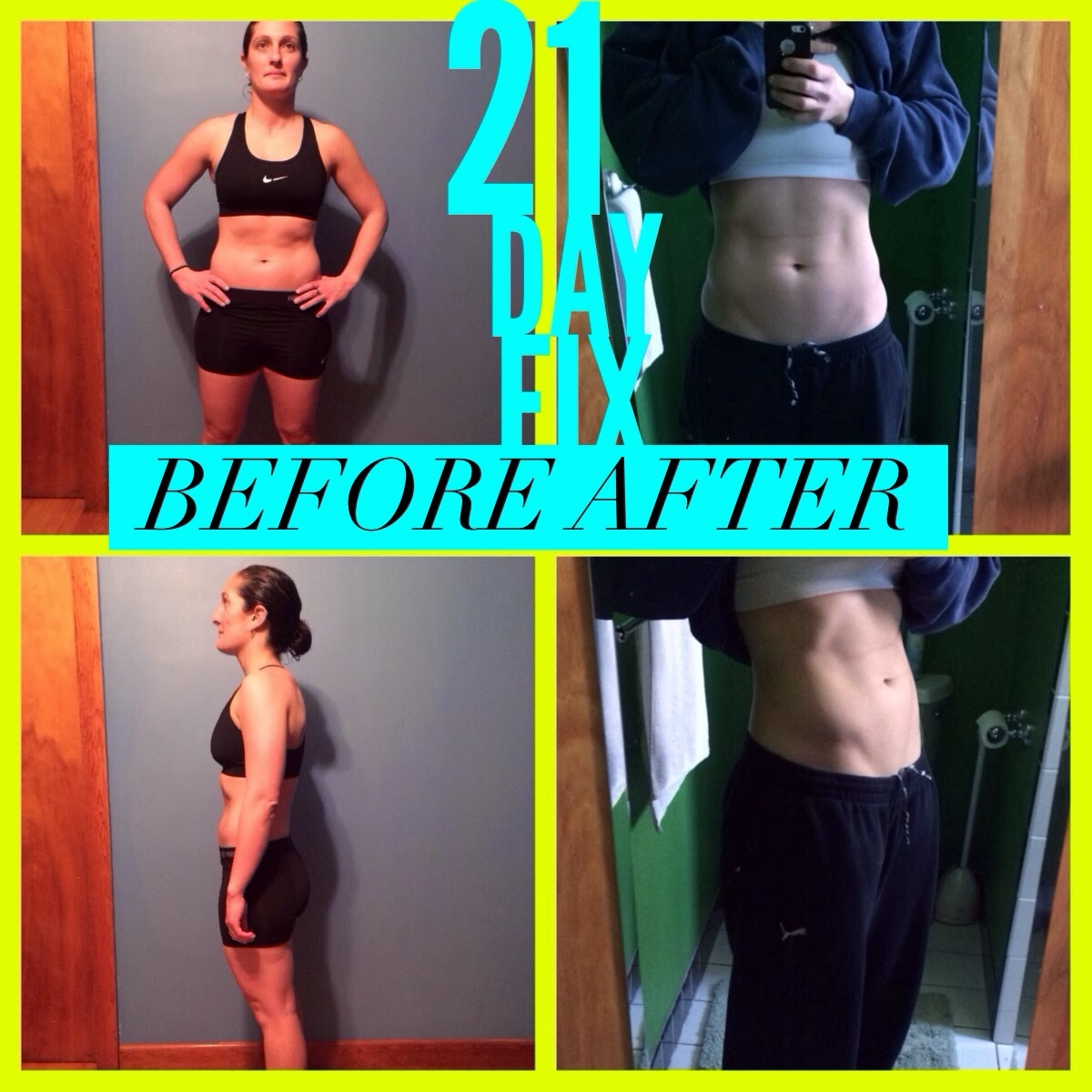 21 day fix, results, 21 day fix results, abs, muscle, beachbody