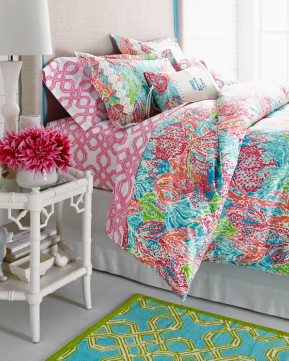 lilly pulitzer garnet hill duvet cover