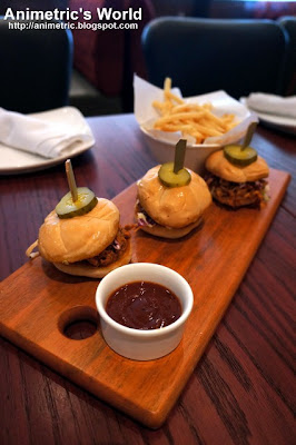 Barbecue Pork Sliders from Village Tavern