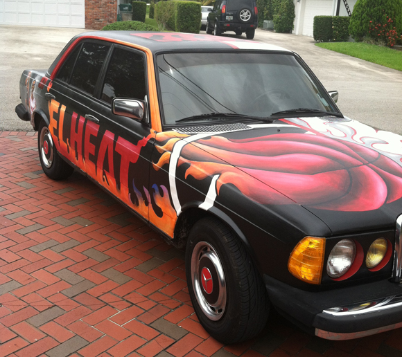 The Immaculate M.E.rcedes Art Car by Martin Reese