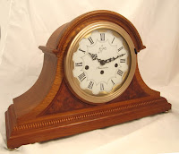 Mechanical mjantel clock with German movement