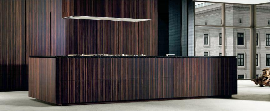 Cocinas de madera para casi toda la vida cocinas con estilo for Barras de cocina de madera