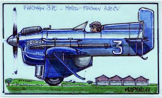 Coupe Deutsch de la Meurthe de 1933 Farman370coul