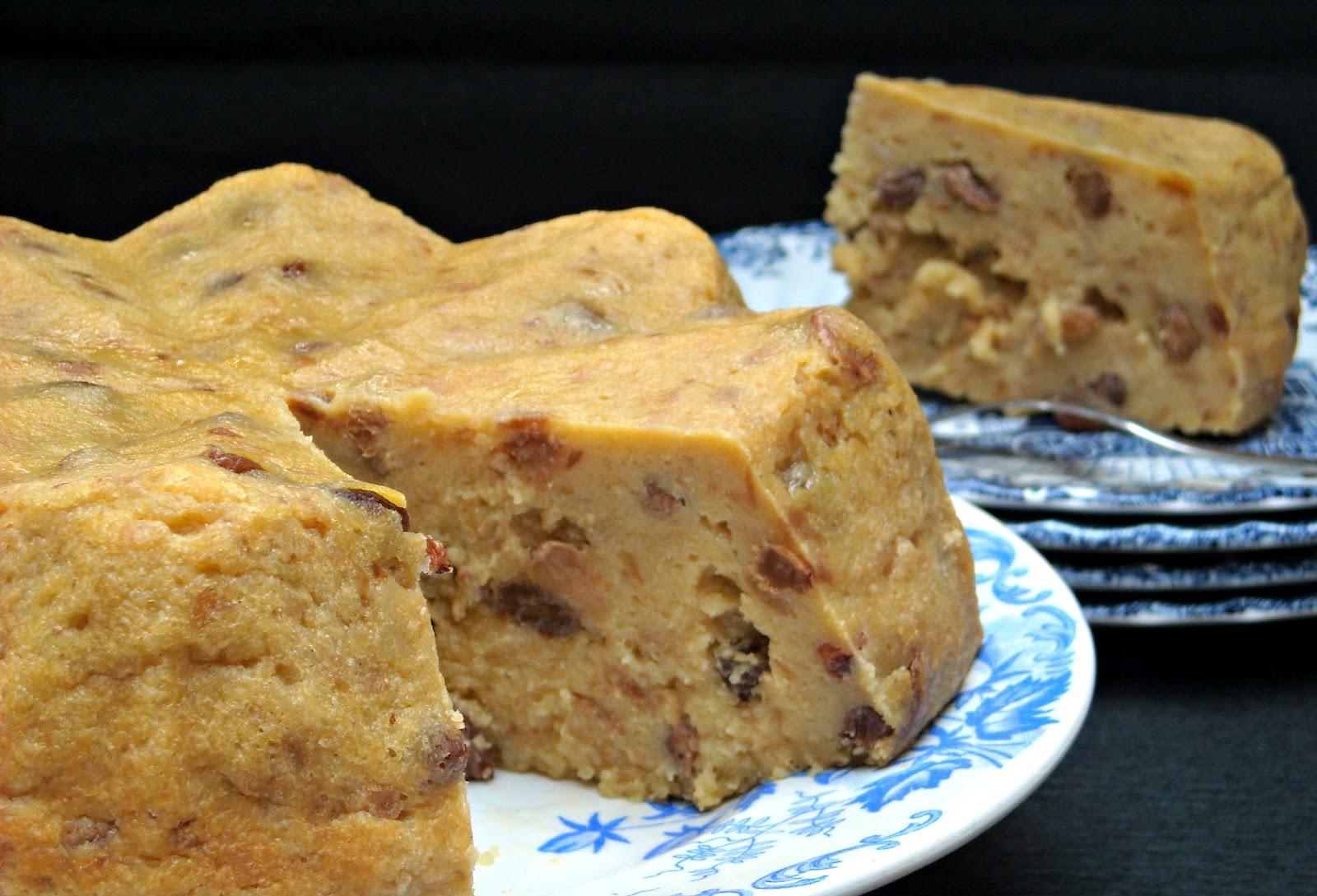 Recette de mamie Jeanne : pain de chien  (pudding)