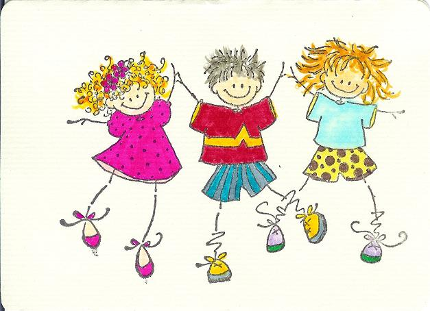 Caricaturas de niño feliz - Imagui