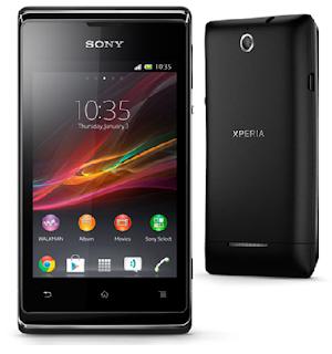 Sony Xperia E C1505 Spesifikasi Harga