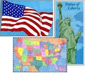Mini Americana Murals $5