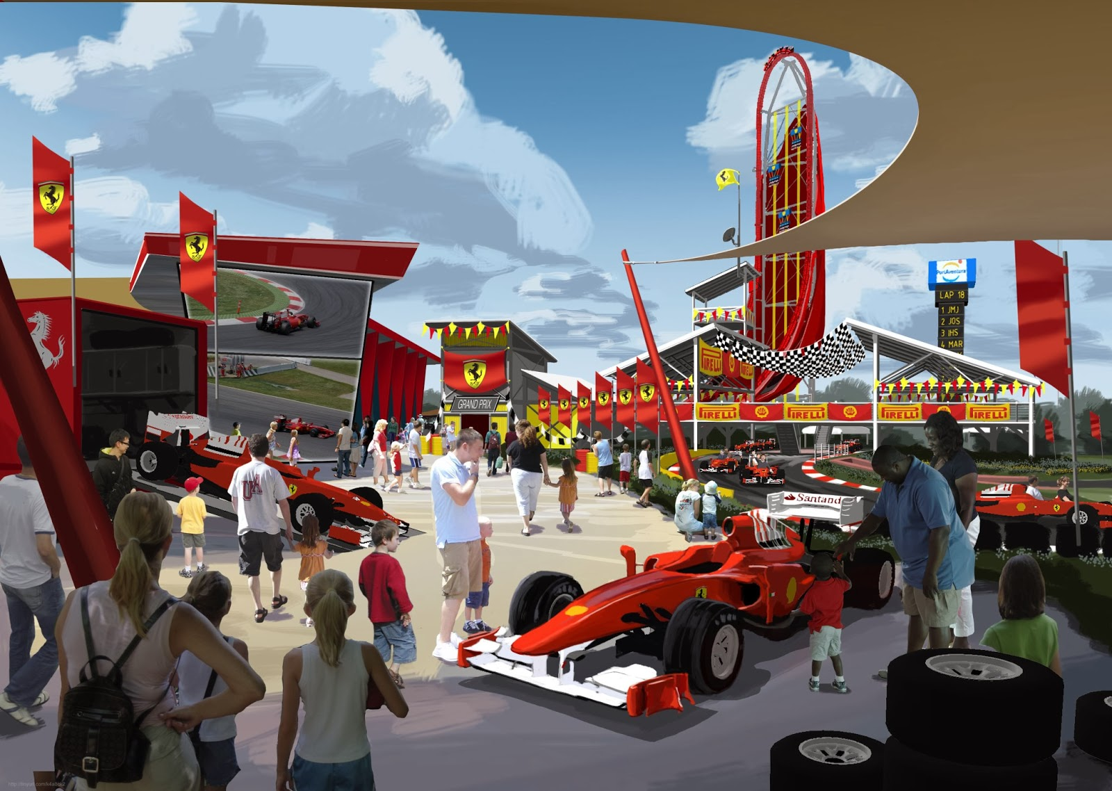 portaventura | ferrari land | new area | forums - coasterforce