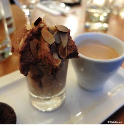 café gourmand mousse chocolat chantilly tartelette citron moelleux choco, Resto Les Bonnes Soeurs Paris 9ème avenue Trudaine Pudhlo Routard