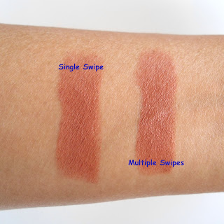 Lakme 9 to 5 Lipstick Coffee Command Review Swatch Price Details LOTD