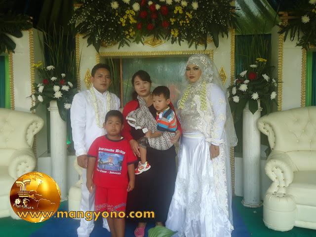 Vidio perhajatan pernikahan Neng Risma di Kampung Gardu