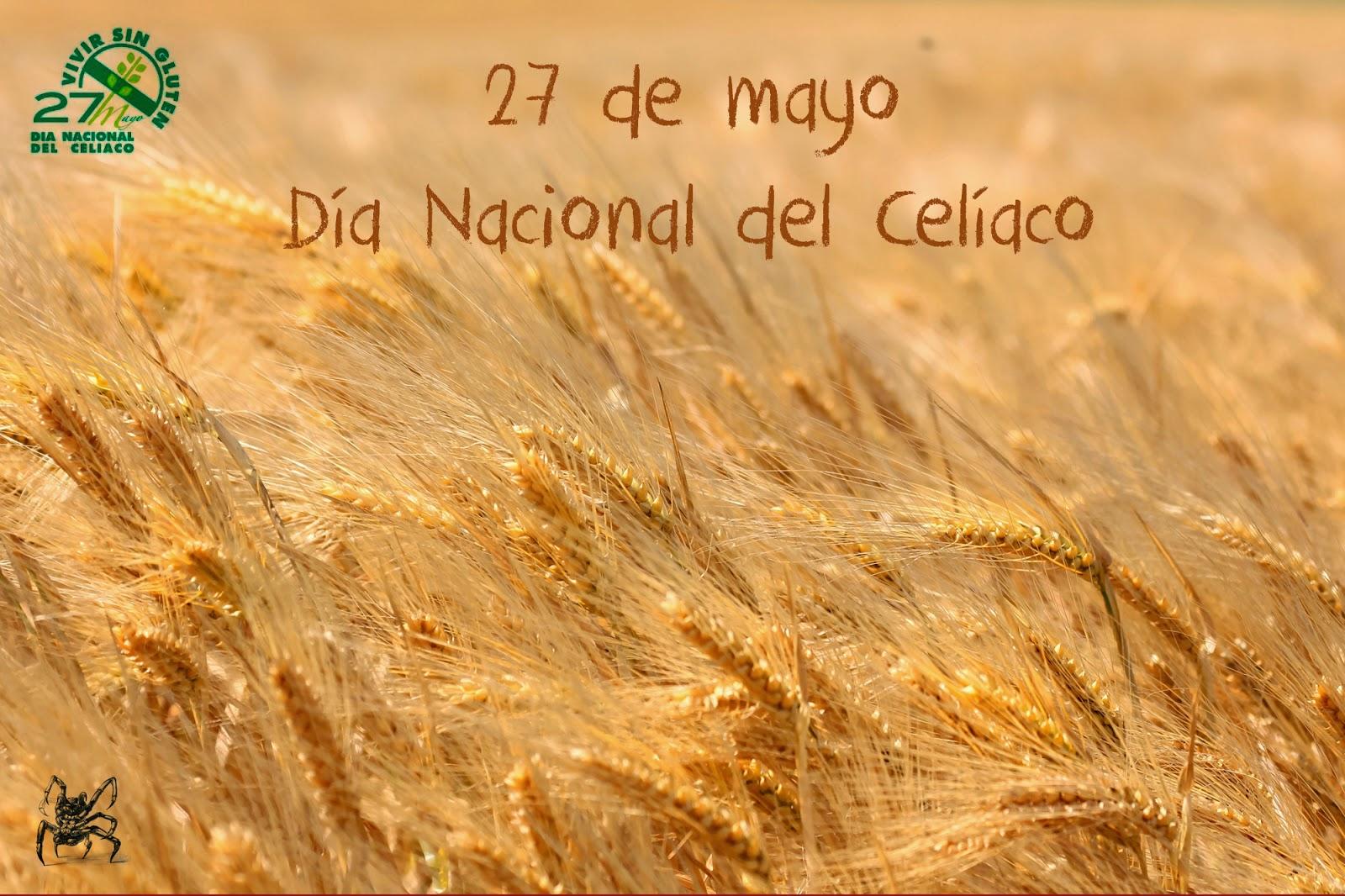 El 27 de mayo es el día nacional del celíaco