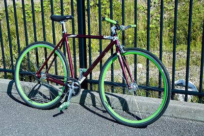 Ma Bicyclette: National Bike Month - Custom Charge Bike