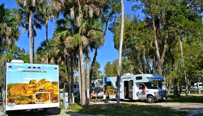 Camping i Florida