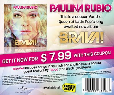 Ja comprou seu ''BRAVA'' de Paulina Rubio?