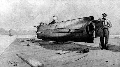 Confederate Submarine H.L. Hunley (1863-1864)