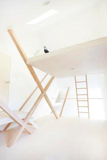 Interior minimalista Vivienda en Japón.