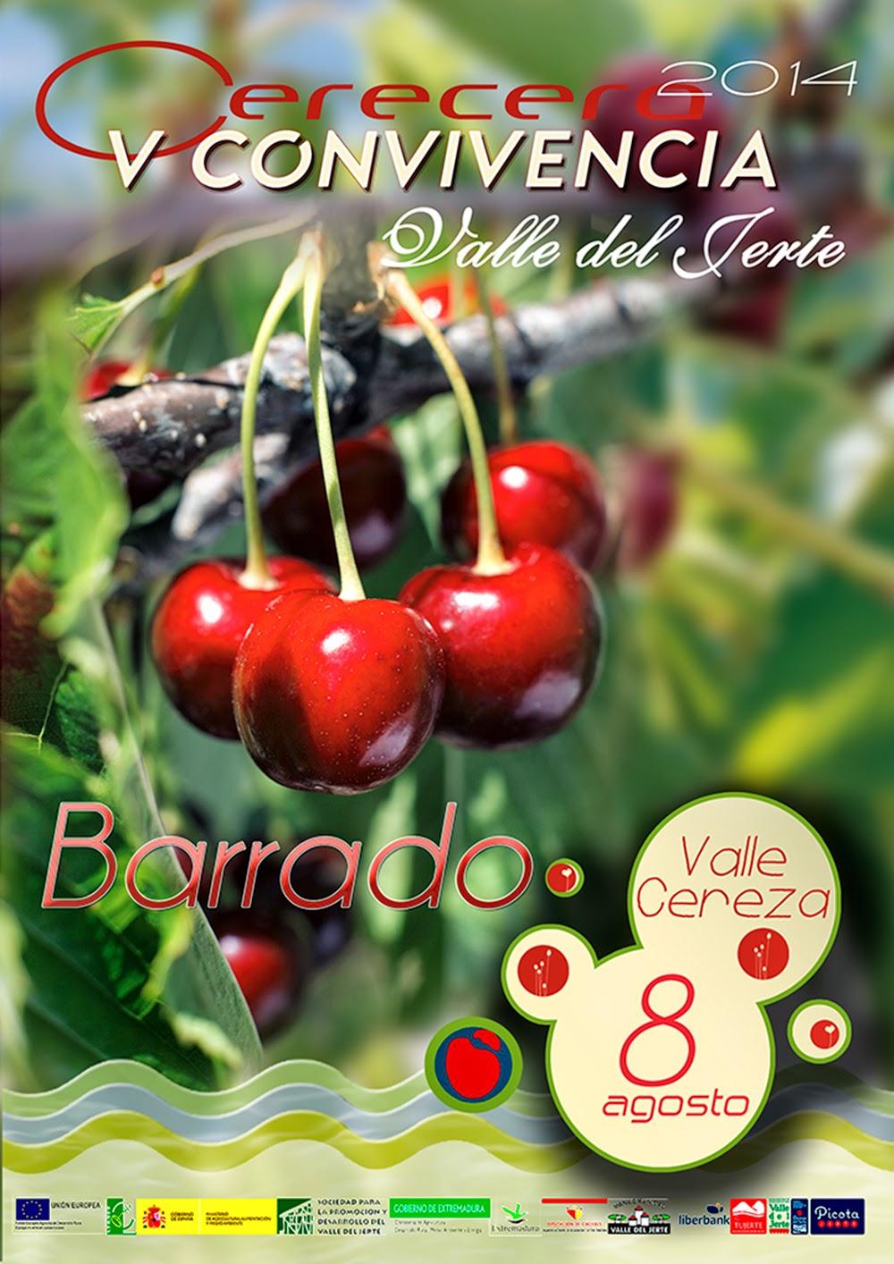 Convivencia Cerecera. 8 de agosto en Barrado (Valle del Jerte)
