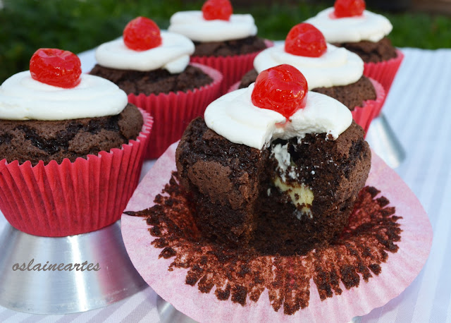 Brownie Surprise Cupcakes