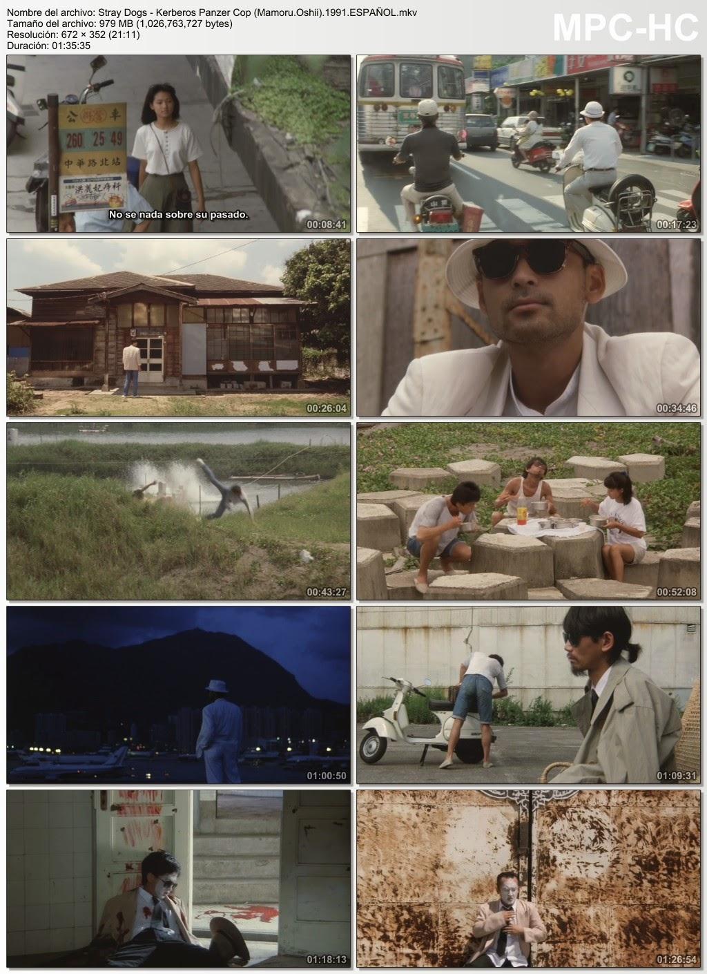 Stray Dogs (Acción)(Sci-fi)(Japón)(1991)